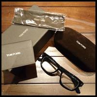 新品★TOM FORD トムフォード 伊達眼鏡 メガネ サングラス ブラック