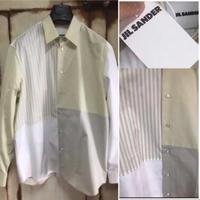 新品タグ付き★ ジルサンダー パッチワークシャツ 41サイズ オーバーサイズ