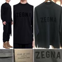 新品タグ付き Zegna × fear of god ゼニア フィアオブゴッド コラボ ロンT ロングスリーブ Tシャツ