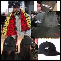 確実本物★新作★VETEMENTS × REEBOK コラボ ヴェトモン リーボック 再構築キャップ 帽子