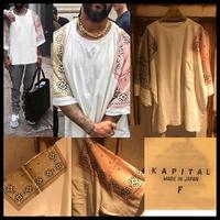 新品タグ付き★KAPITAL キャピタル Tシャツ フリーサイズ ホワイト