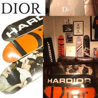 名作!新品箱付き★ 限定 2017 DIOR HOMME ディオールオム Hardior Mosh Pits Dior ) SKATEBOARD DECK スケートボード デッキ 3枚セット