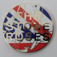 Stone Roses Waterfall ピンバッジ