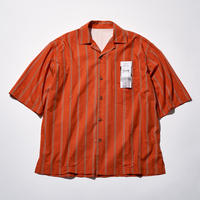 STRIPE SHIRTS ORANGE [RTKBL-0101ORG]