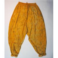 Un fabric-bagru-  series fem-004  サルエルパンツ FP-Y001