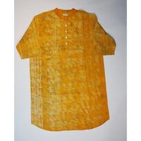Un fabric-bagru-  series fem-005  シャツドレス FSH-001