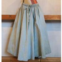 Un fabric-Bagru-  series fem-007  スカート