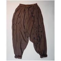 Un fabric-bagru-  series fem-004  再生サルエルパンツ FP-G001