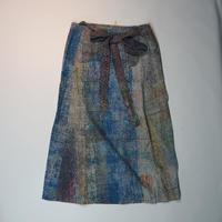 Un fabric-delhi-  series rew-001_003  エプロンスカート Mサイズ