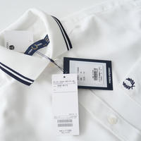 2021AW今季新作 未使用 / FRED PERRY × Ray BEAMS / 別注 リブカラー シャツ /  2108-1571