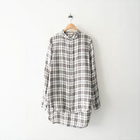 CP SHADES / リネンチェックシャツ / Whim Gazette購入品 2102-1133