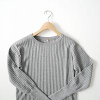 2020 未使用 / L'Appartement / Rib Knit ワンピース /  2009-0481