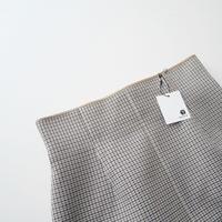2018AW / NOBLE 千鳥チェックボンディング タイトスカート 1905-0459