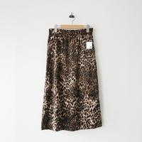 2018AW / FRAMeWORK レオパードプリントスカート 1911-0062