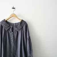 2021SS今季  / nest robe / レースカラー2wayスモックワンピース /  2103-0291