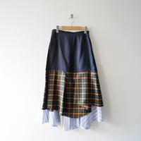 2019AW今季未使用 / ENFOLD ペチスカート Layered 1911-1531