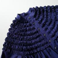 2019 / Drawer別注 Scye リネンフリルシャツ 1910-0458