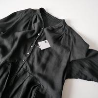 2020SS今季  / nest robe / リネンYネックドレス /  2007-0610