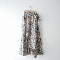 2018AW / ISABEL MARANT ETOILE リネン ラップスカート 1908-0758