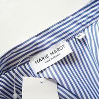 2018未使用 / MARIE MAROT チュニックシャツ ストライプ 1909-1006