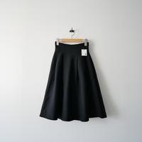 LE CIEL BLEU フレアニットスカート ブラック 1909-0999