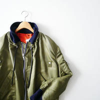 2019AW  / sacai / MA-1×Melton Jacket /  2005-0075