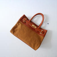 2019SS今季未使用  / Sita Parantica キャンバスレザートートバッグ Cambus Leather Tote Bag