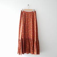 2019AW今季 / SPICK&SPAN ペイズリー ティアードスカート 1911-0444