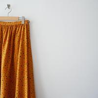 2019SS継続型 / ROPE ETERNEL シルククレープデシン ラムールエターナルギャザースカート 1906-1508
