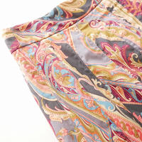 2018AW / MARGARET HOWELL スカート PAISLEY COTTON SHIRTING 1908-1703