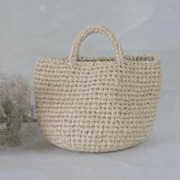 裂き編みバッグ マルシェタイプ 【Sサイズ】