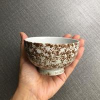 arabia   brown small bowl