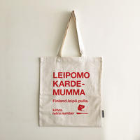 Leipomo Kardemumma original bag red