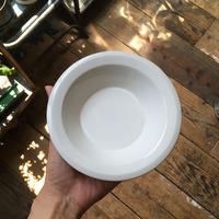 arabia faenza bowl  white