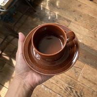 arabia  krouvi coffee cup & saucer