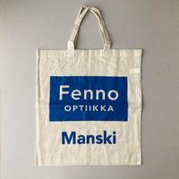 Finland Fenno optiikka totebag
