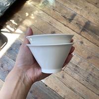 arabia harlekin  bowl white