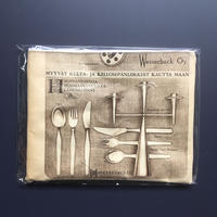 Finland old paper pouch「TAPIO cutlery  L」