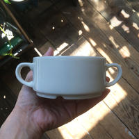 arabia  kesti double handle  cup white