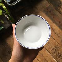arabia mini bowl  blue line