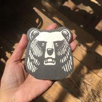 Finland karhu coaster cut