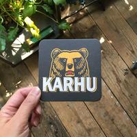 Finland karhu coaster 2枚セット