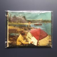 Finland old paper pouch「kohti vapaita vesia  L」