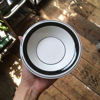 arabia faenza bowl  black
