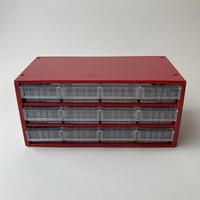 Finland  KENNOSET mini drawer tool box red B