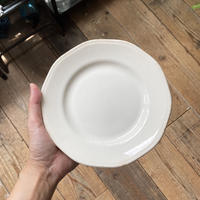 arabia moderna plate white 19cm