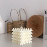 candle-03003 Braid Cube キャンドル