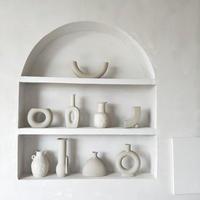 flowervase-03024 陶磁器 ホワイトフラワーベース 花瓶