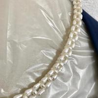 【淡水パール】本真珠 天然 パール デザイン ネックレス 留め具 シルバー 本物