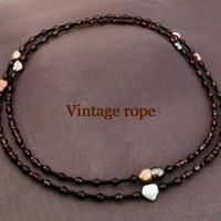 Vintage rope(ヴィンテージロープ)
